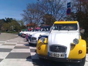 original idea for business event, 2cv party
