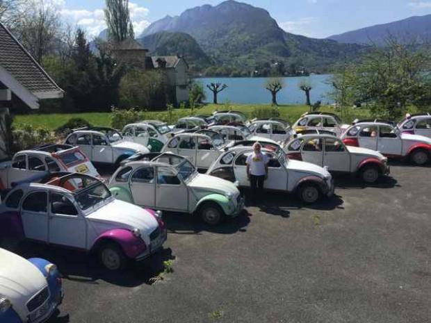Rallye 2CV à Genève