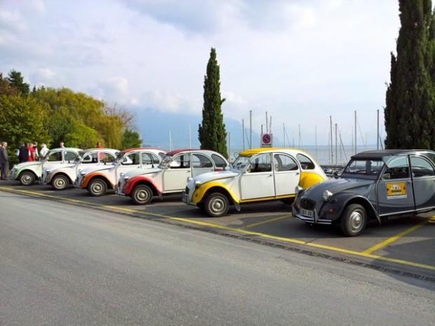 séminaire lac léman Rallye 2cv