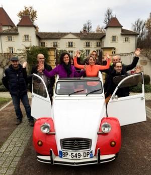 Rallye 2cv Beaujolais
