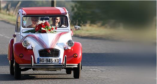2cv mariage