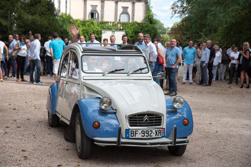 Rallye 2cv en Bourgogne pour votre séminaire entreprise