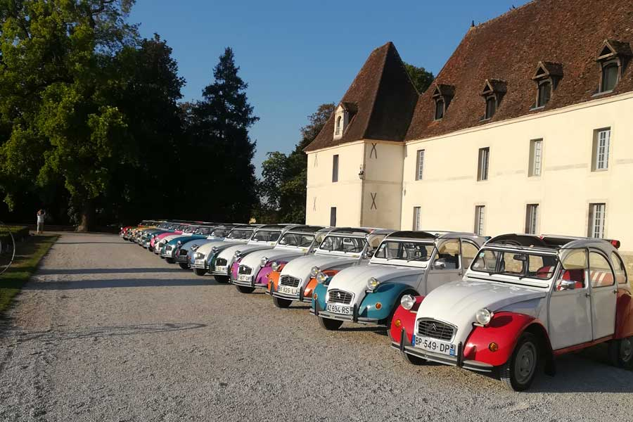Rallye 2CV team building Beaune