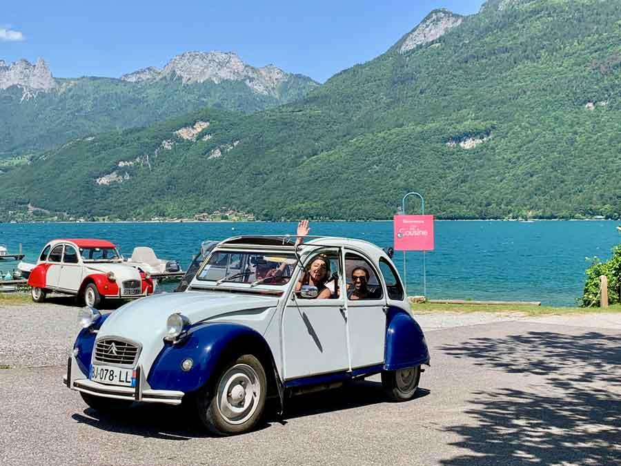 lac aix les bains rallye touristique