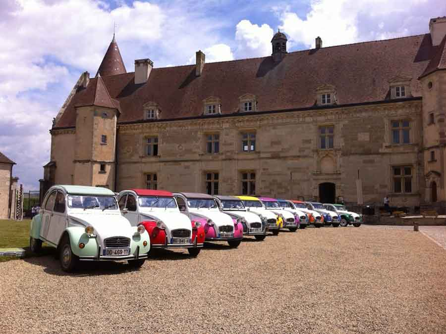 rallye 2cv séminaire bourgogne chailly