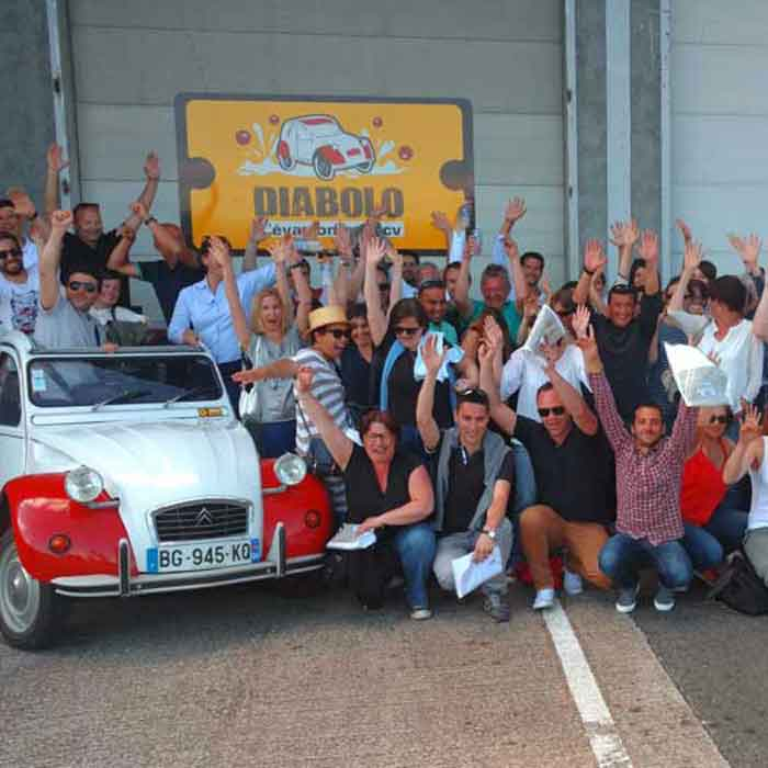 Icone Rallye en 2CV