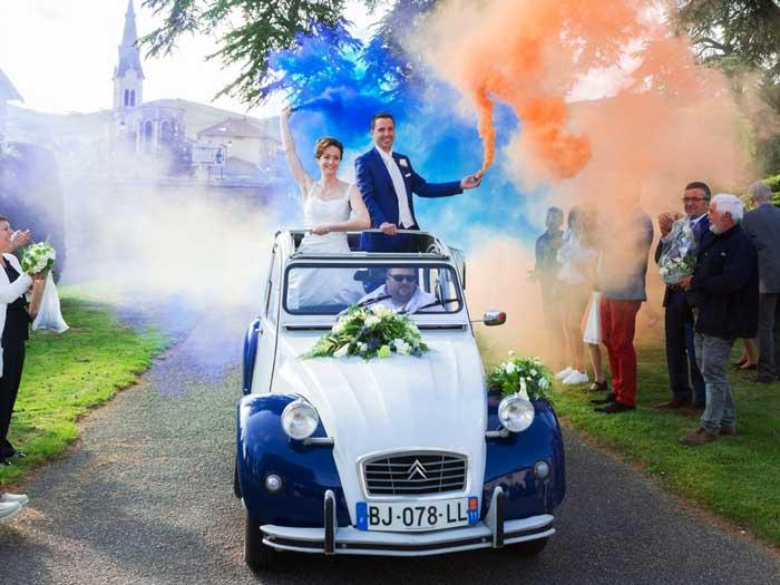 location ancienne voiture mariage