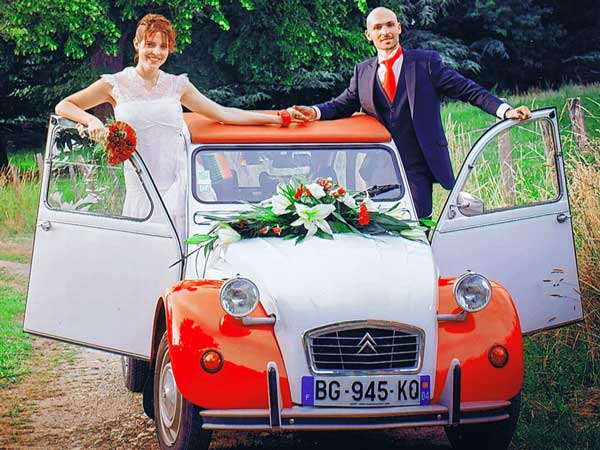 location voiture collection mariage