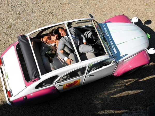 location voiture vintage mariage