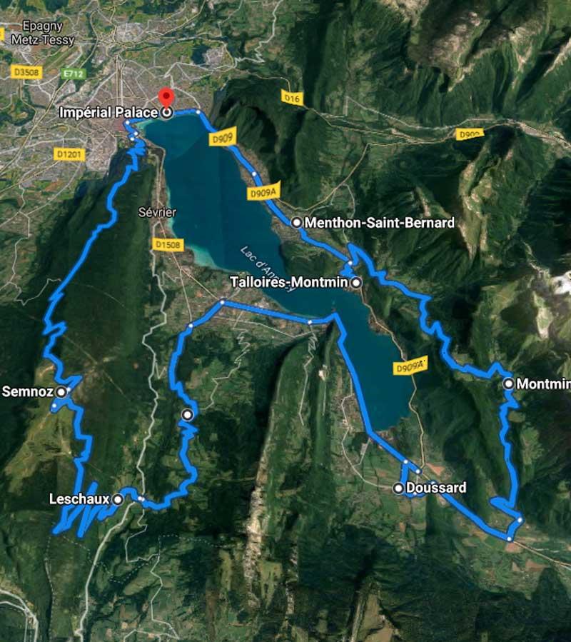 parcours type séminaire Annecy