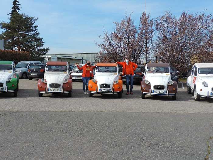 equipe diabolo rallye 2cv